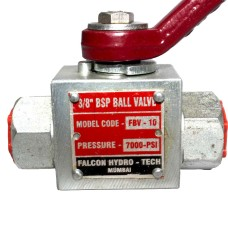 Hydraulic Ball Valve High Pressure 2way (5000PSI)
